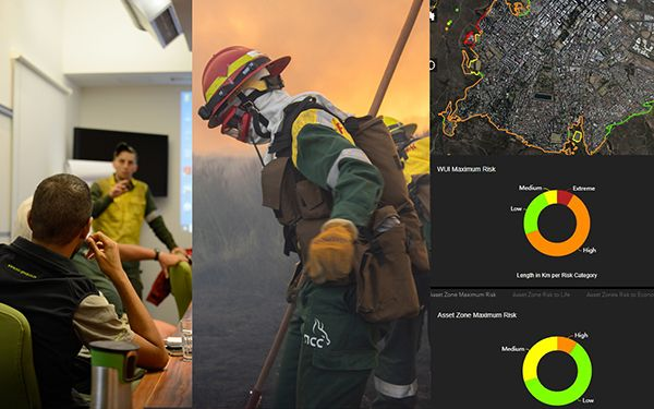 The Wildland-Urban Interface:  A customised decision-making solutions.
