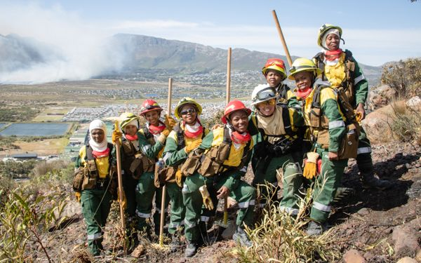 The All-Woman Wildland Firefighting Project