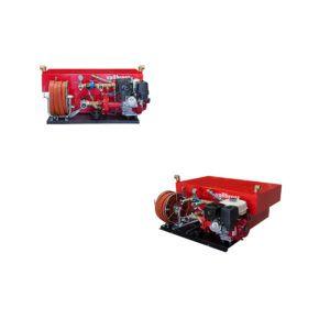 High pressure skid unit with Centrifugal Pump