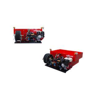 High pressure skid unit with Membrane Pump