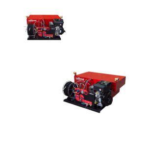 High pressure skid unit with Piston Pump